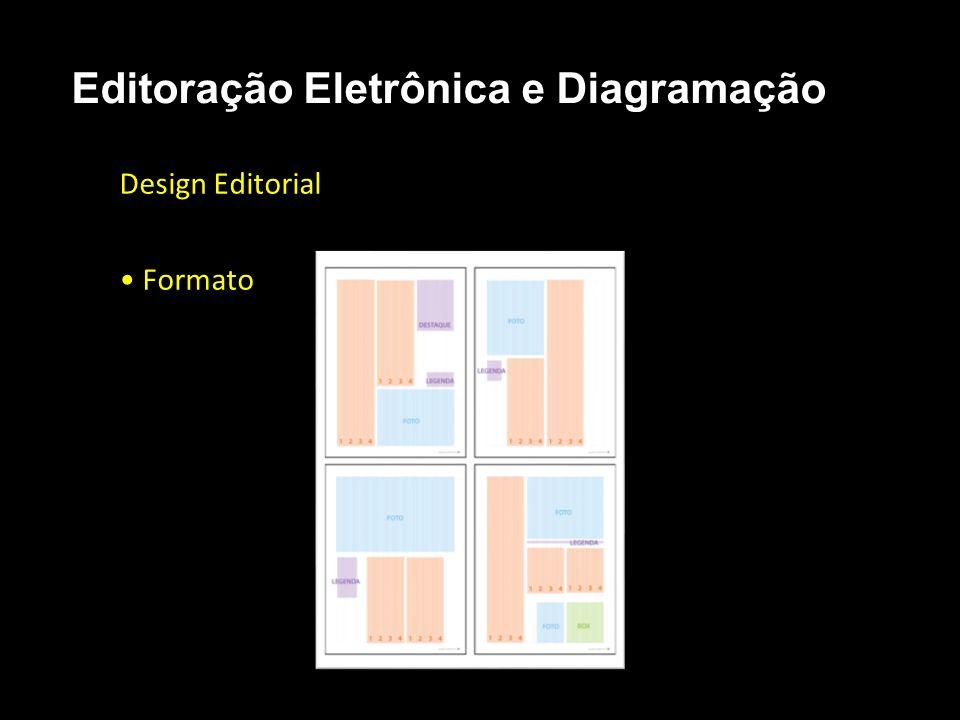 Editoração Eletrônica e Diagramação Design Editorial Formato