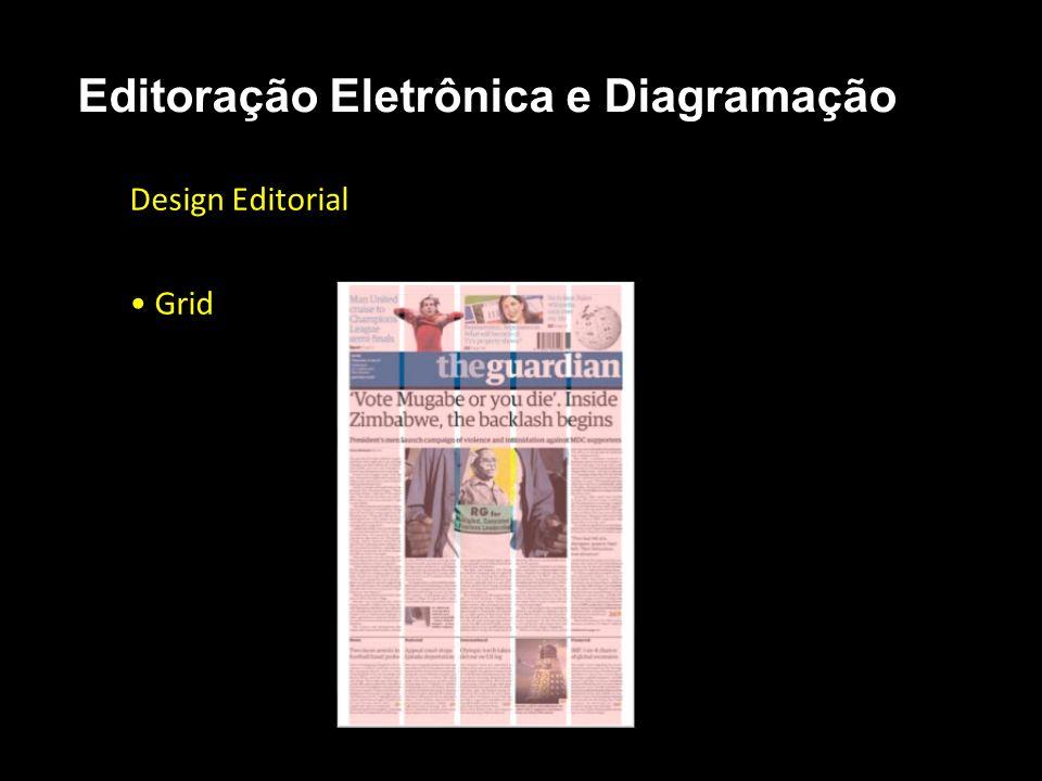 Editoração Eletrônica e Diagramação Design Editorial Grid