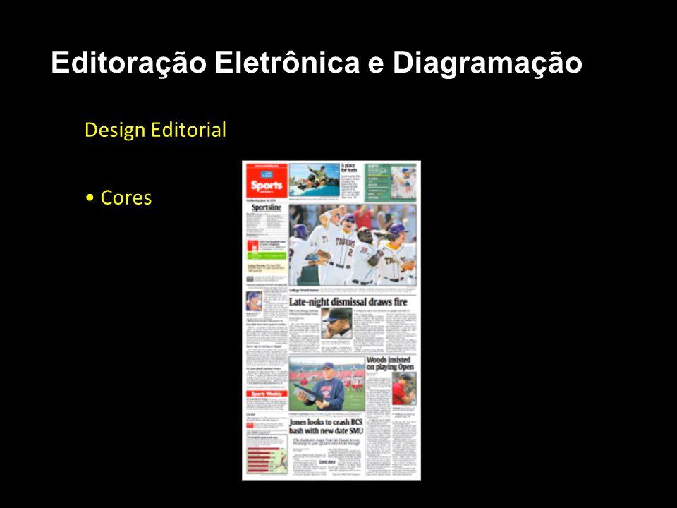 Editoração Eletrônica e Diagramação Design Editorial Cores