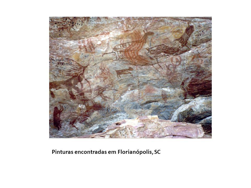 Pinturas encontradas em Florianópolis, SC