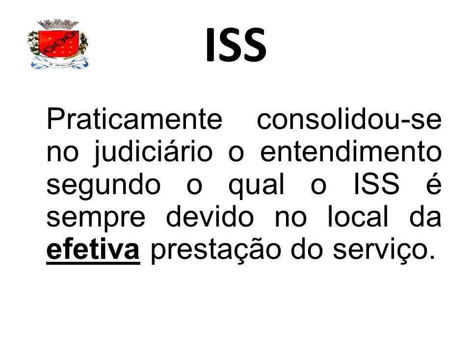 ISS Podemos identificar, que a primeira regra é direcionada aos serviços previstos nos Incisos I a XXII do próprio Artigo 3º.