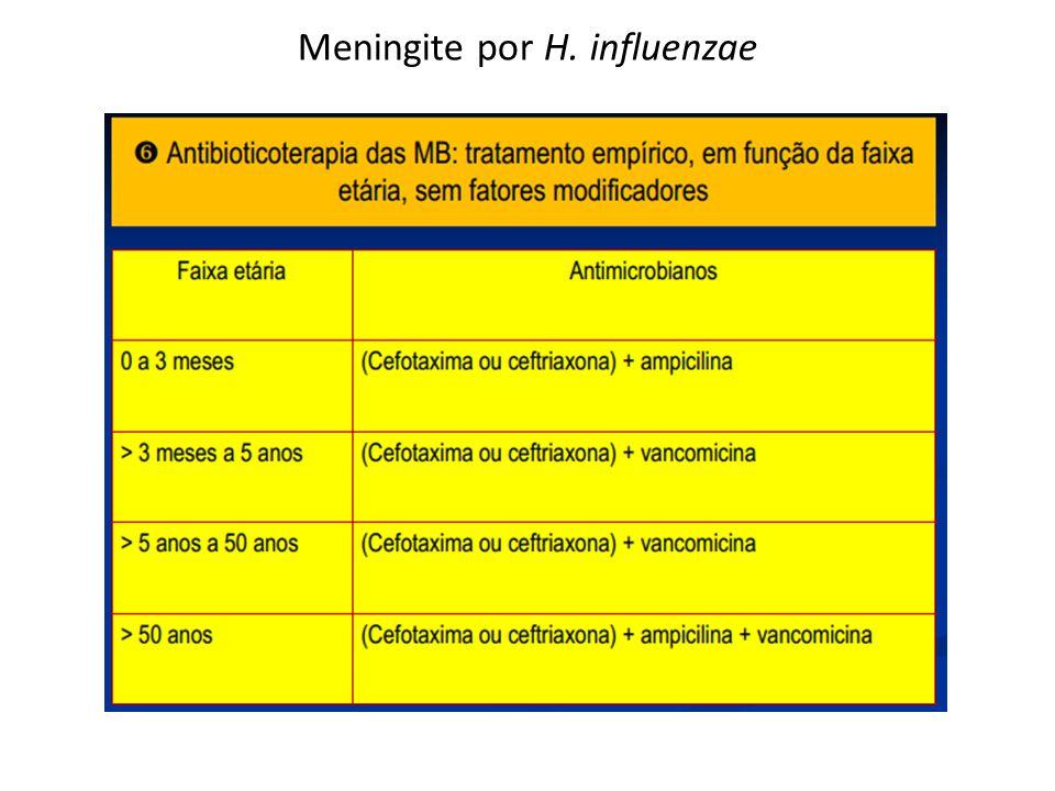 Meningites virais Diagnóstico A história clínica e epidemiológica pode orientar o diagnóstico etiológico (caxumba, sarampo, varicela, etc).