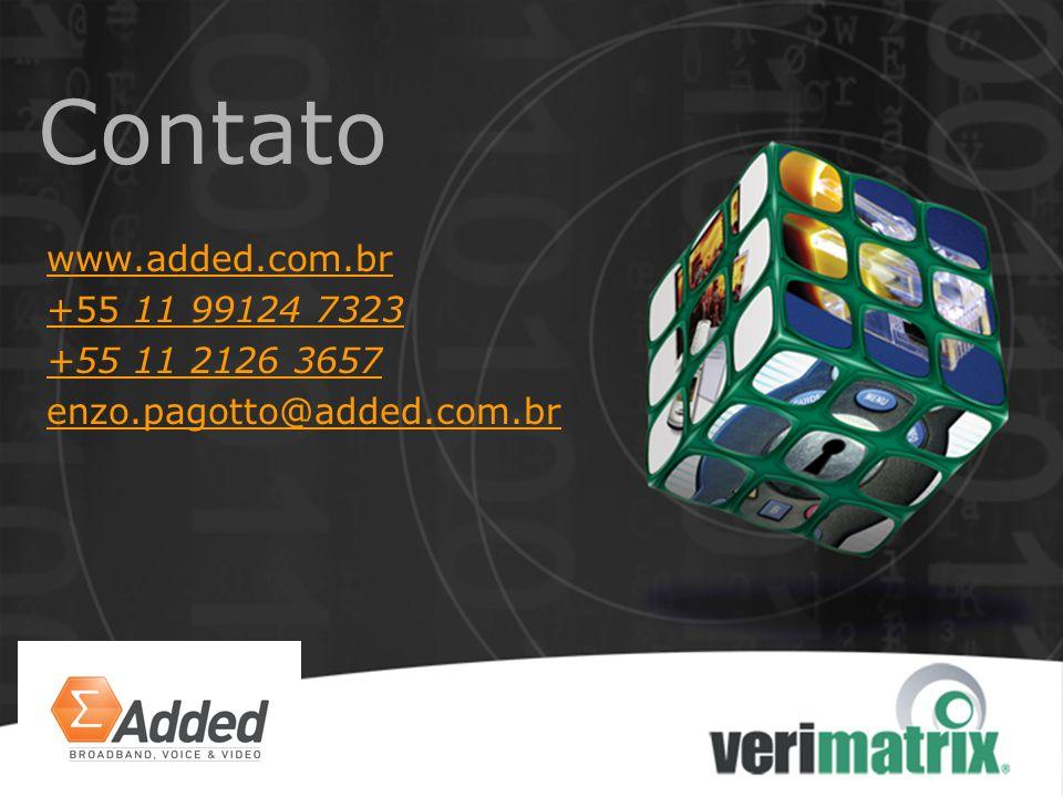 Contato www.added.com.br +55 11 99124 7323 +55 11 2126 3657 enzo.pagotto@added.com.br