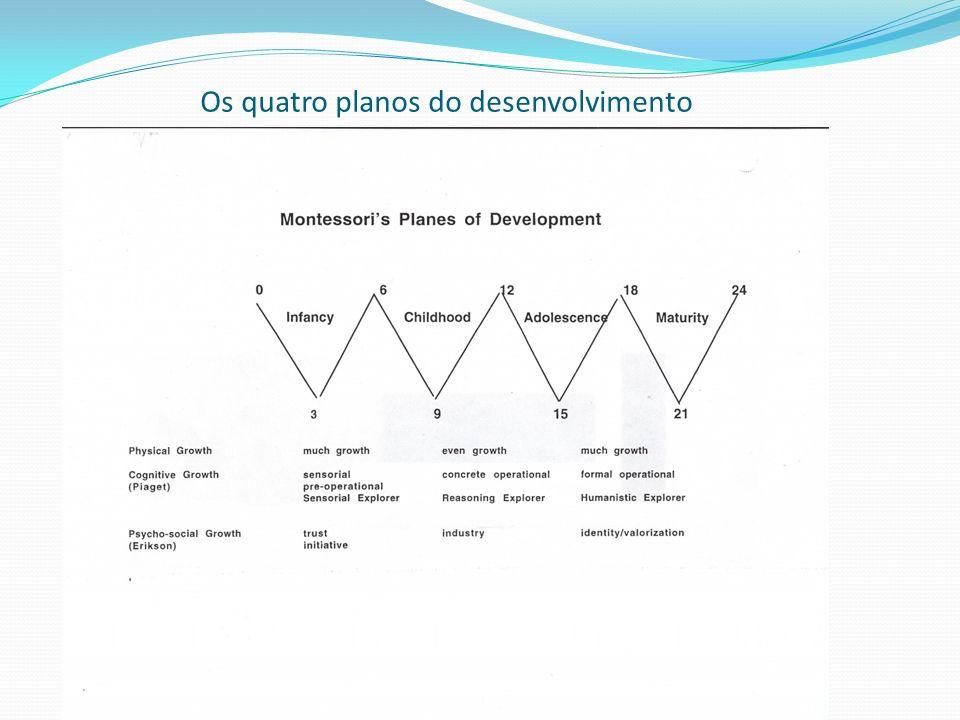 Os quatro planos do desenvolvimento