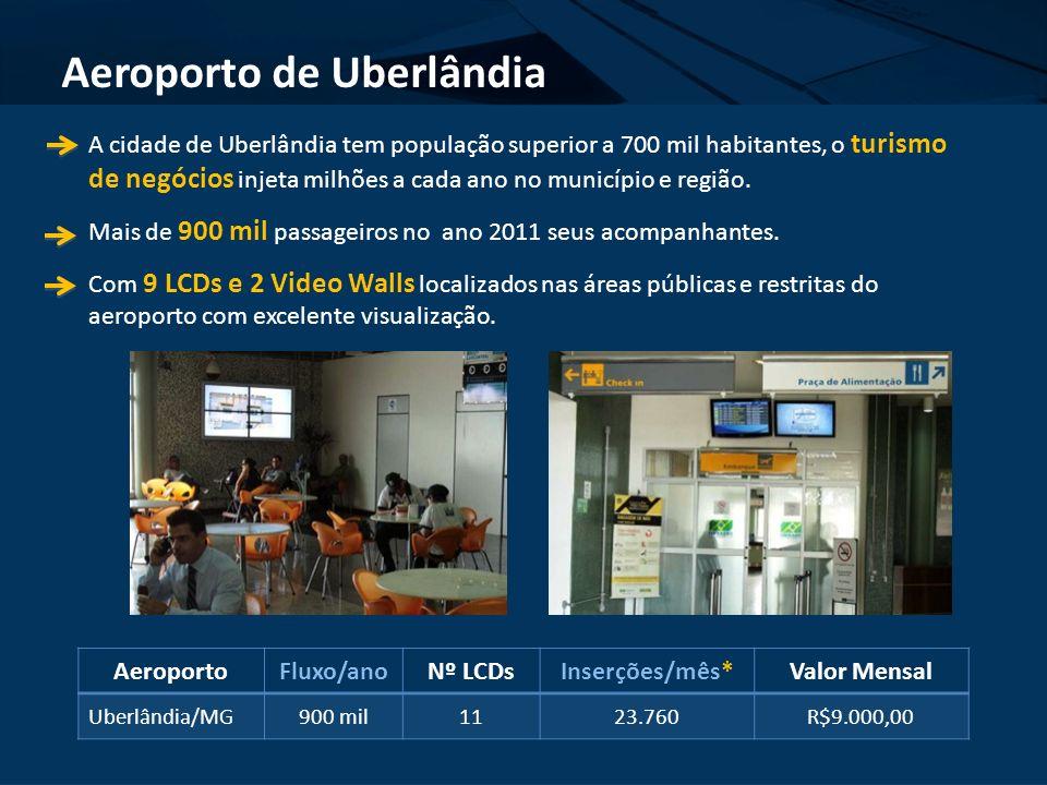 A cidade de Uberlândia tem população superior a 700 mil habitantes, o turismo de negócios injeta milhões a cada ano no município e região. Mais de 900