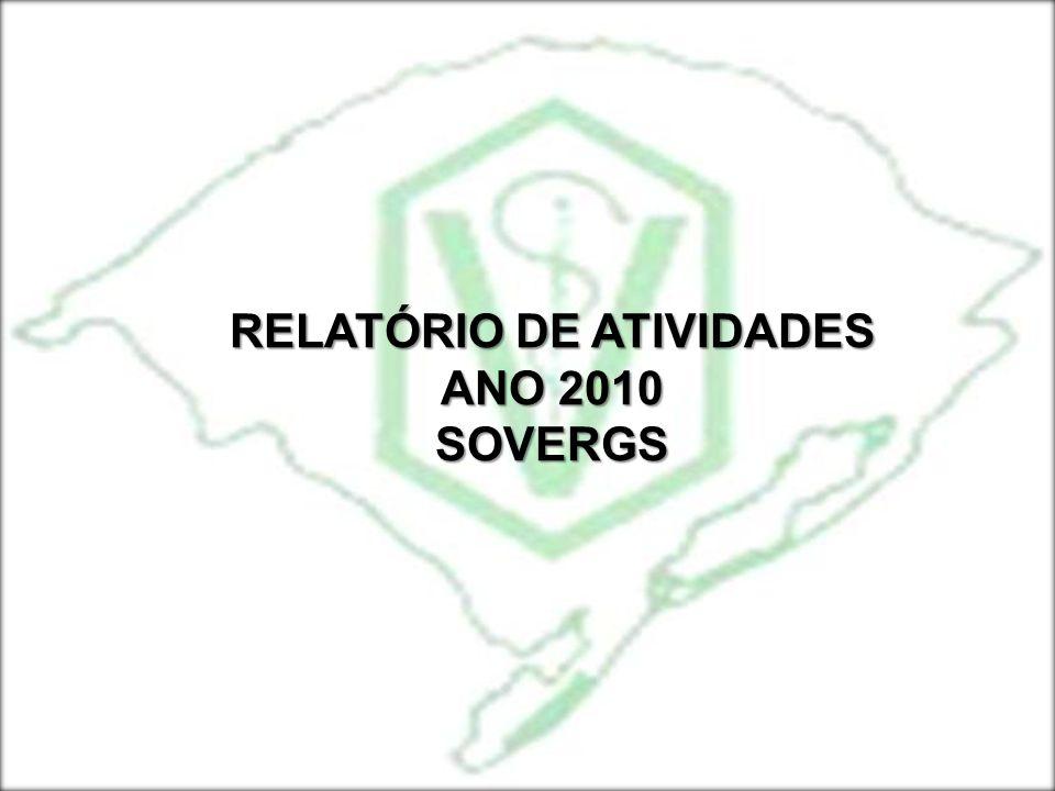 METAS PARA O ANO DE 2011 SOVERGS