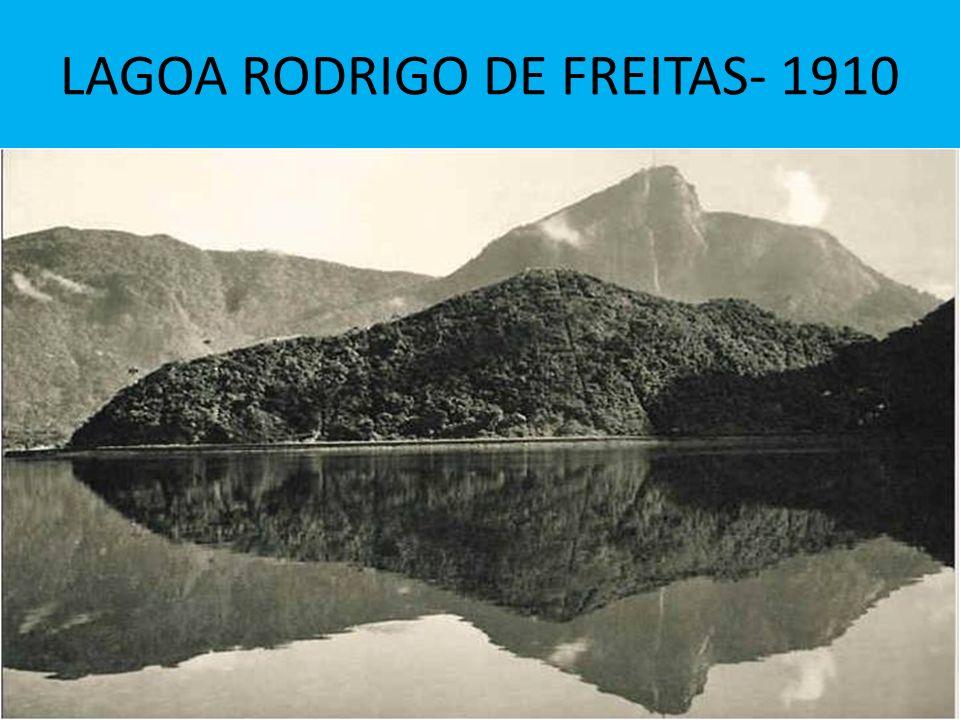 LAGOA RODRIGO DE FREITAS- 1910