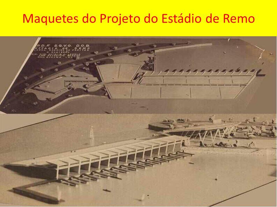 Maquetes do Projeto do Estádio de Remo