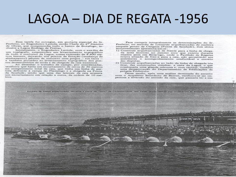 LAGOA – DIA DE REGATA -1956