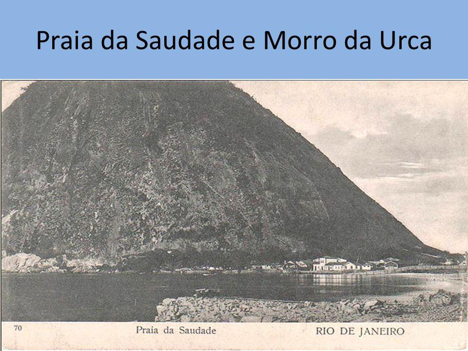Praia da Saudade e Morro da Urca