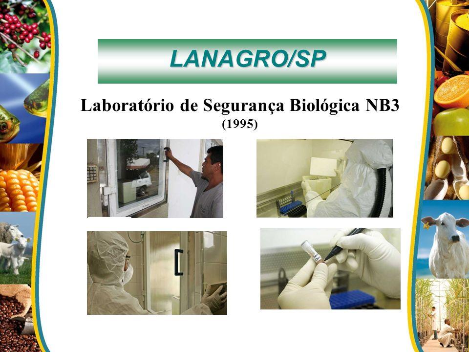 LANAGRO/SP Laboratório de Segurança Biológica NB3 (1995)