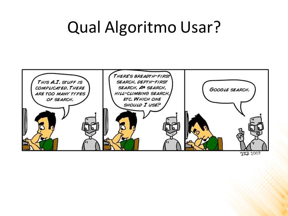Qual Algoritmo Usar?