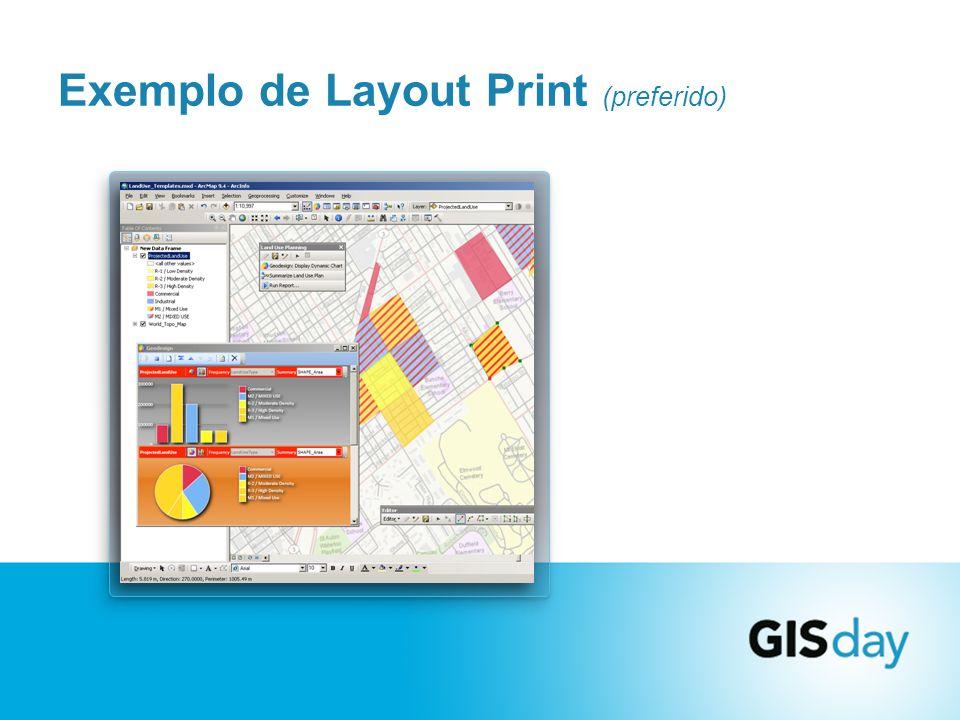 Exemplo de Layout Print (preferido)