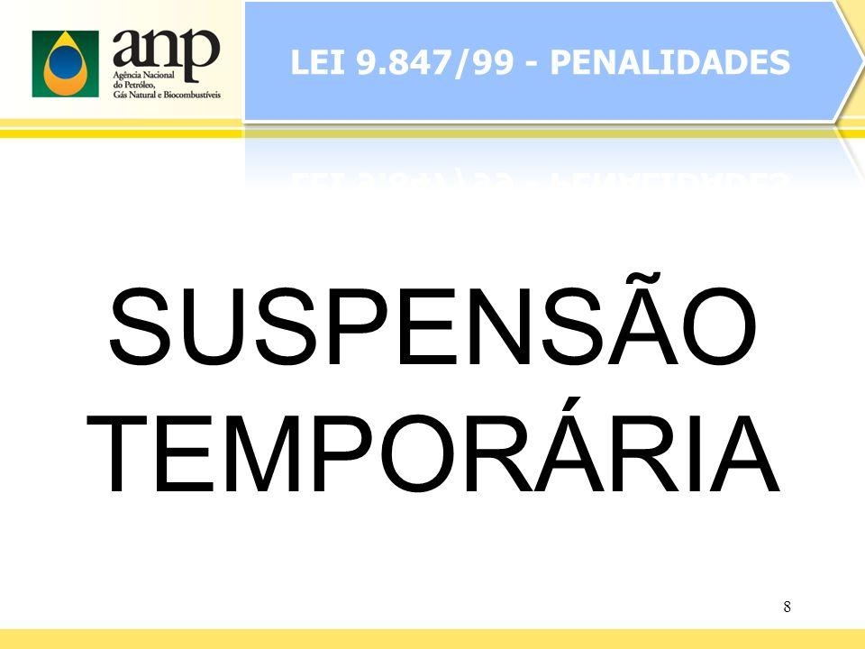 8 SUSPENSÃO TEMPORÁRIA