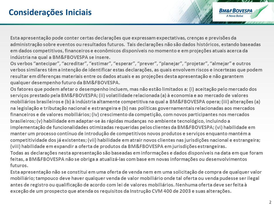 3 3 DESTAQUES FINANCEIROS Receita Bruta: R$581,3 milhões, +6,2% Seg.