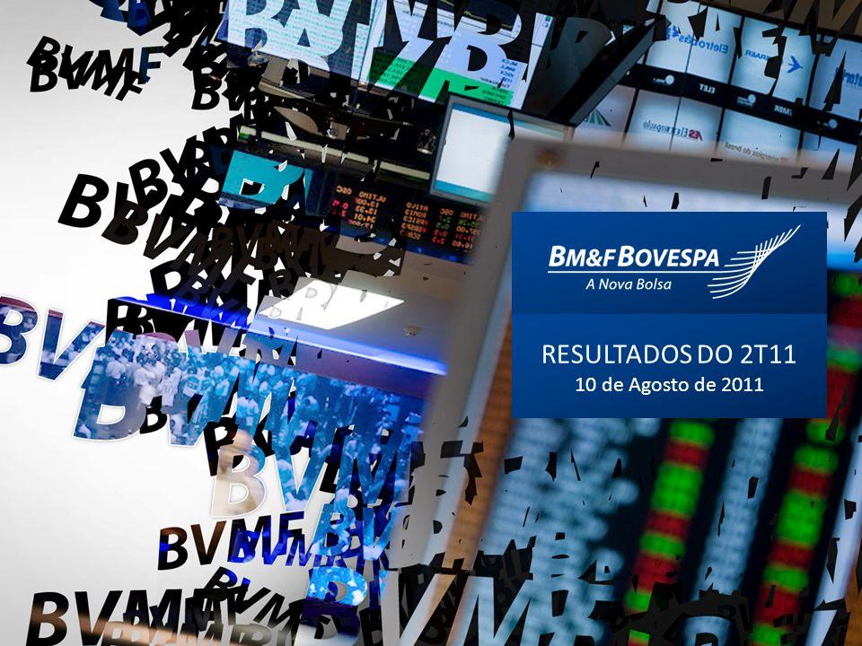 RESULTADOS DO 2T11 10 de Agosto de 2011 1