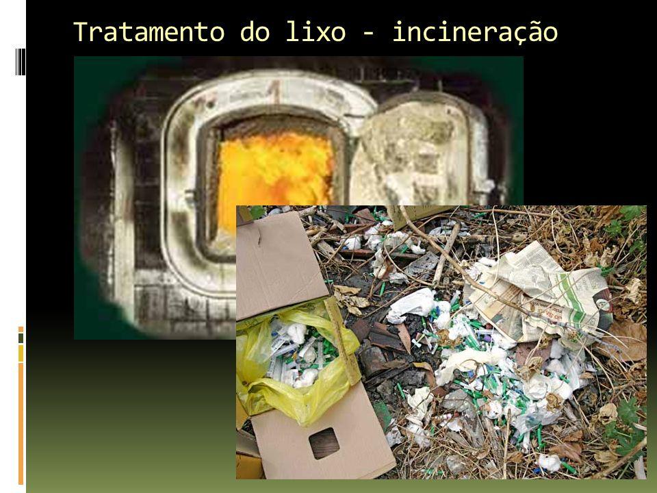 Tratamento do lixo - incineração