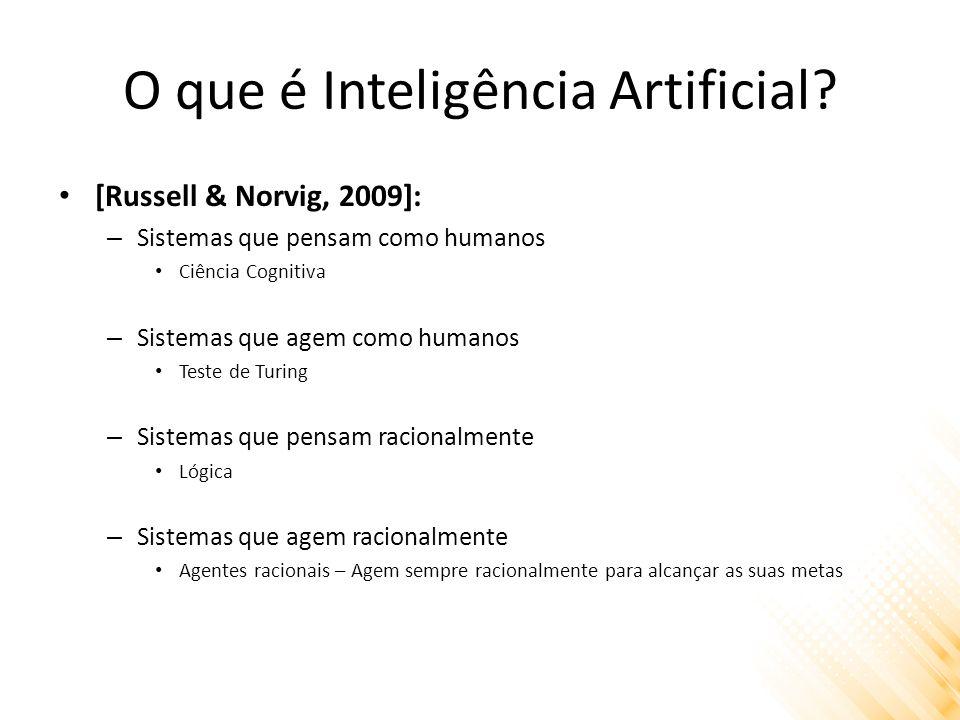 O que é Inteligência Artificial.
