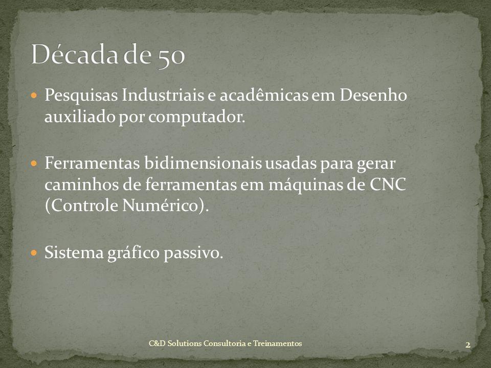 Pesquisas Industriais e acadêmicas em Desenho auxiliado por computador. Ferramentas bidimensionais usadas para gerar caminhos de ferramentas em máquin