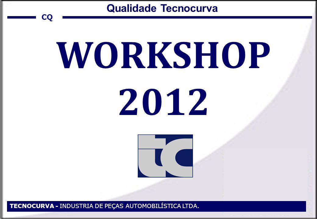 TECNOCURVA - INDUSTRIA DE PEÇAS AUTOMOBILÍSTICA LTDA. WORKSHOP 2012 CQ Qualidade Tecnocurva