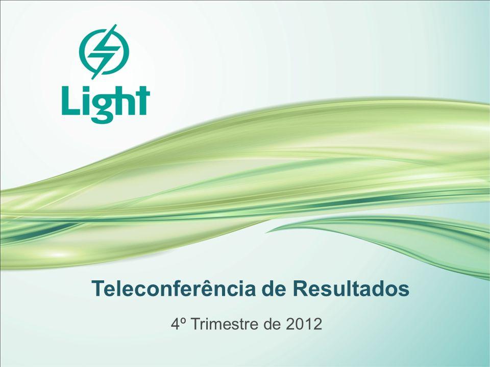 Teleconferência de Resultados 4º Trimestre de 2012