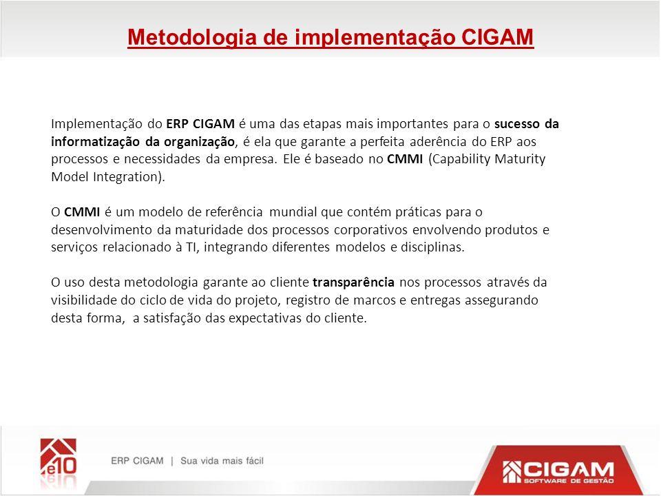 Implementação do ERP CIGAM é uma das etapas mais importantes para o sucesso da informatização da organização, é ela que garante a perfeita aderência d