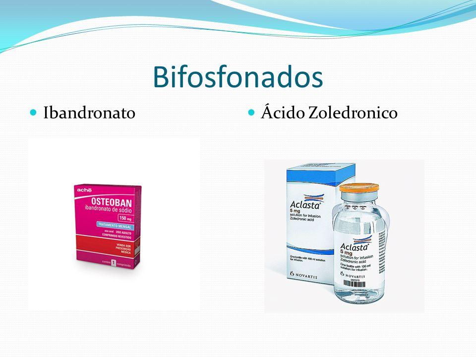 Bifosfonados Ibandronato Ácido Zoledronico