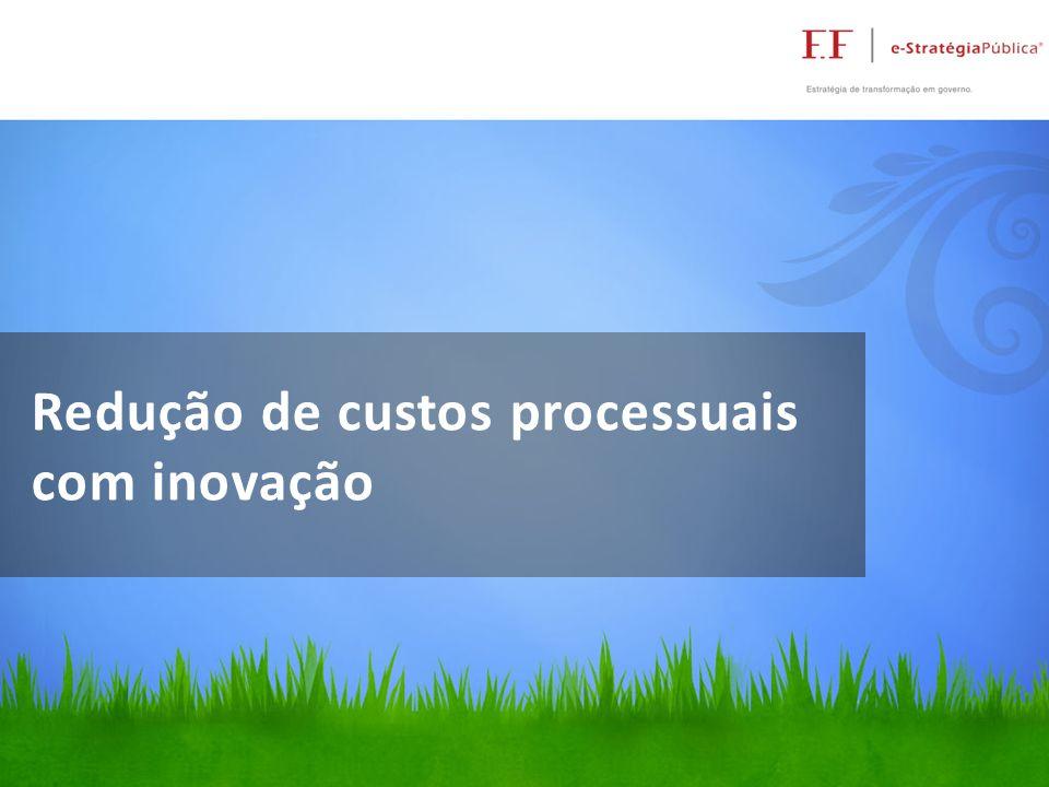 Redução de custos processuais com inovação