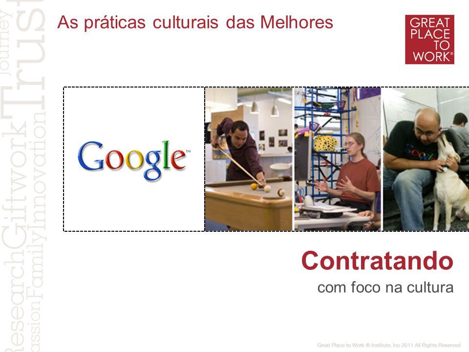 As práticas culturais das Melhores Contratando com foco na cultura