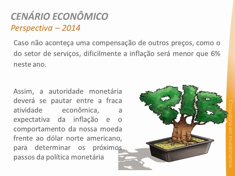 Caso não aconteça uma compensação de outros preços, como o do setor de serviços, dificilmente a inflação será menor que 6% neste ano. Perspectiva – 20