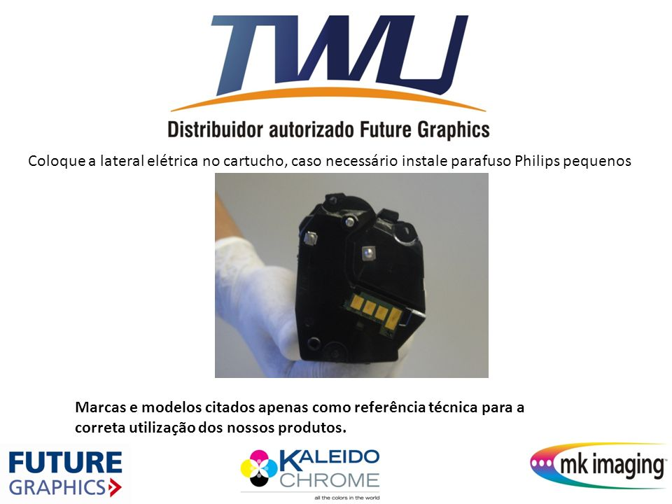 Substitua o chip por um novo e aplique se necessário um pouco de graxa condutiva nos contatos elétricos