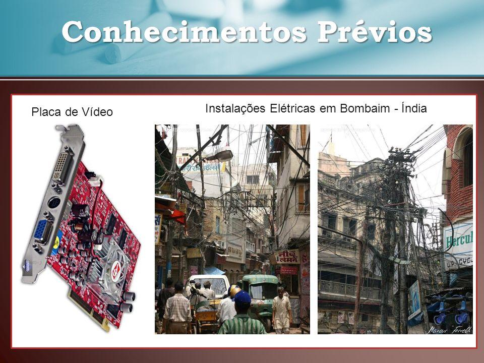 Conhecimentos Prévios Conhecimentos Prévios Placa de Vídeo Instalações Elétricas em Bombaim - Índia