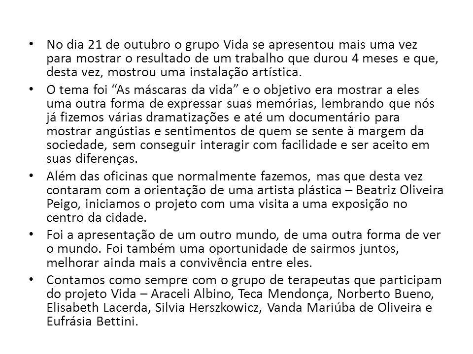 Uma foto para ficar na lembrança Ida à exposição em que Beatriz Oliveira Peigo participava