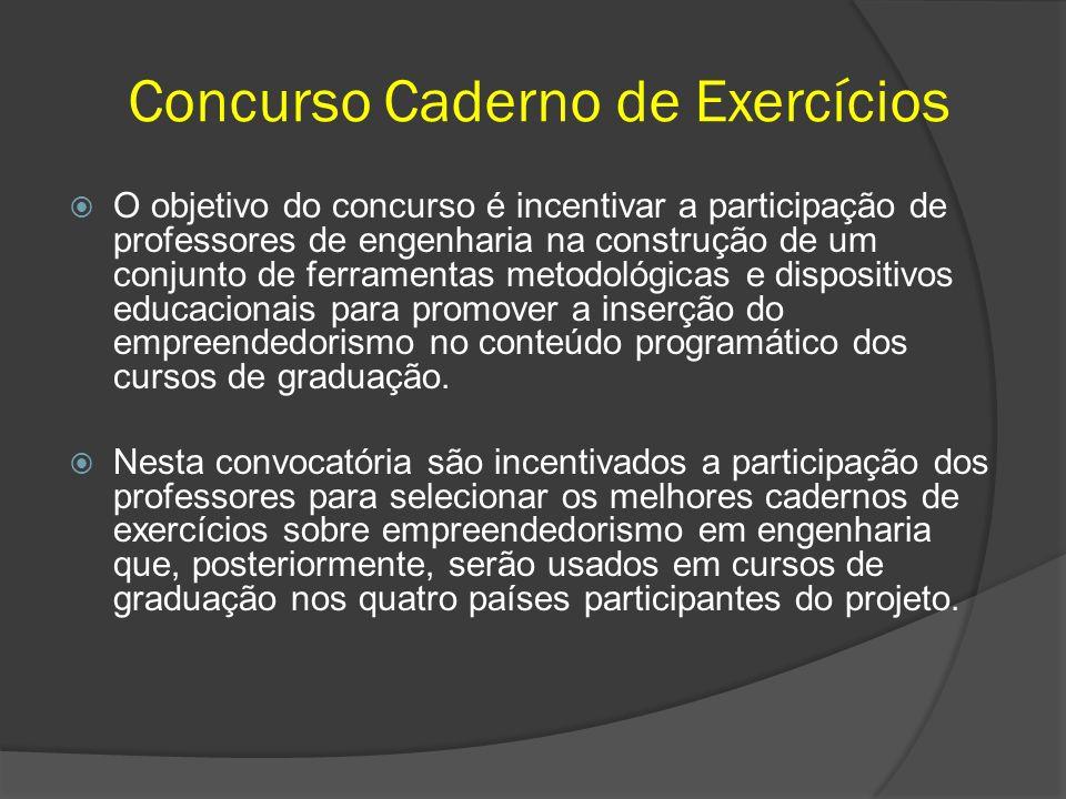 O objetivo do concurso é incentivar a participação de professores de engenharia na construção de um conjunto de ferramentas metodológicas e dispositiv