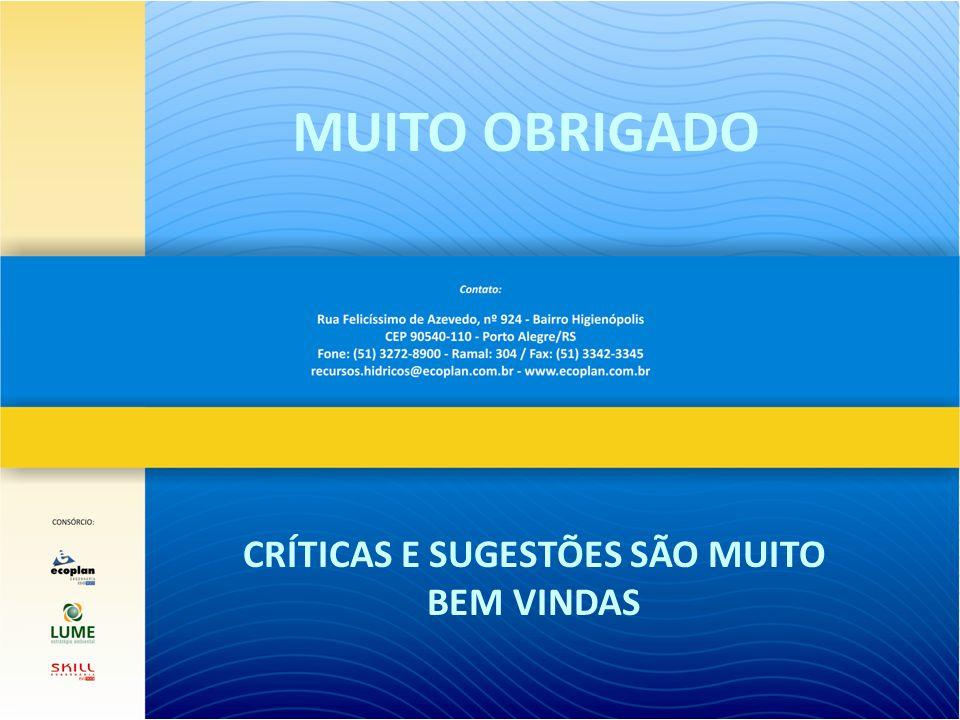MUITO OBRIGADO CRÍTICAS E SUGESTÕES SÃO MUITO BEM VINDAS