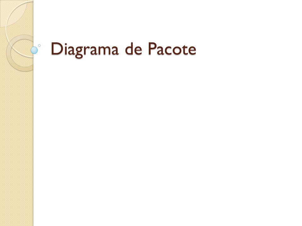 Diagrama de Pacote