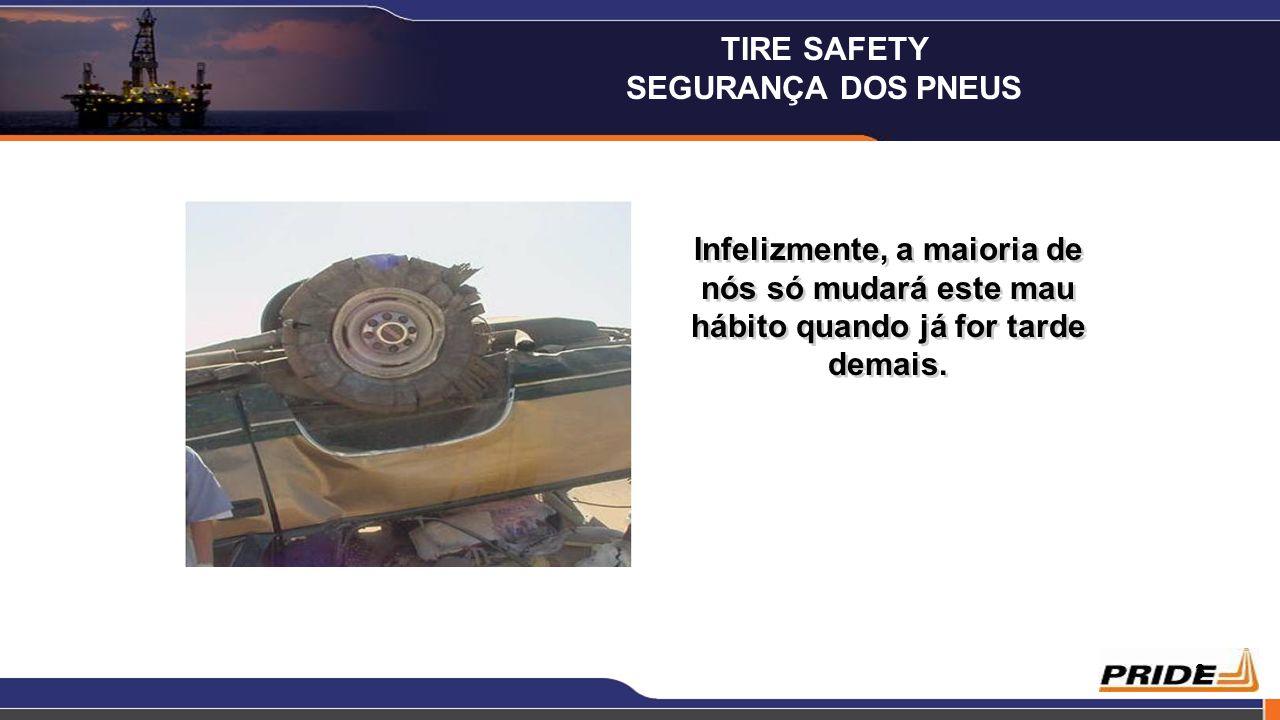 4 Sabia que os pneus caducam 4 anos depois de data de fabrico e esta data está estampada no lado do pneu.