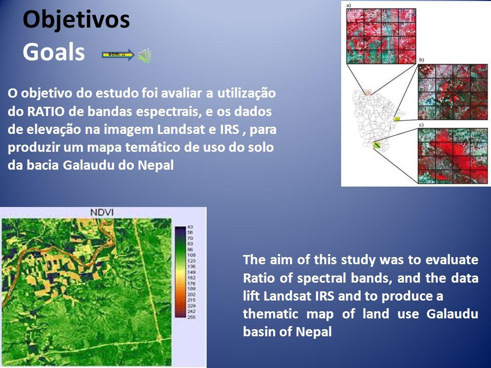Introduction Modelo Digital de Elevação Resolução espacial da Imagens Landsat Resolução espacial do satélite Indiano Topografia Período em estiagem Mí