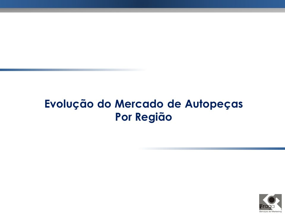 Evolução do Mercado de Autopeças Por Região