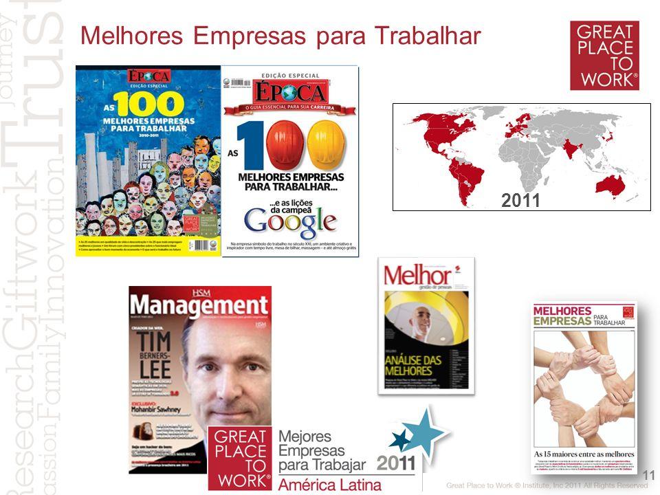 Melhores Empresas para Trabalhar 11 2011