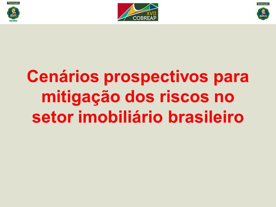 Cenários prospectivos para mitigação dos riscos no setor imobiliário brasileiro