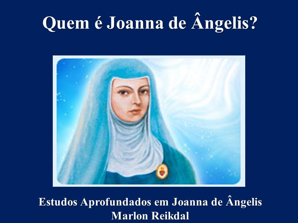 Quem é Joanna de Ângelis? Estudos Aprofundados em Joanna de Ângelis Marlon Reikdal