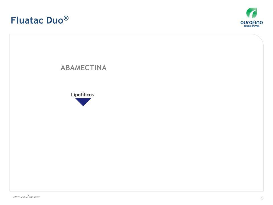 www.ourofino.com 11 Fluatac Duo ® ABAMECTINA