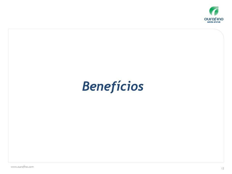 www.ourofino.com 13 Benefícios