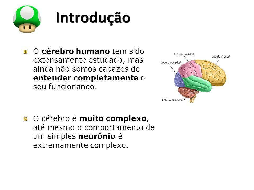 LOGO Introdução O cérebro humano tem sido extensamente estudado, mas ainda não somos capazes de entender completamente o seu funcionando. O cérebro é