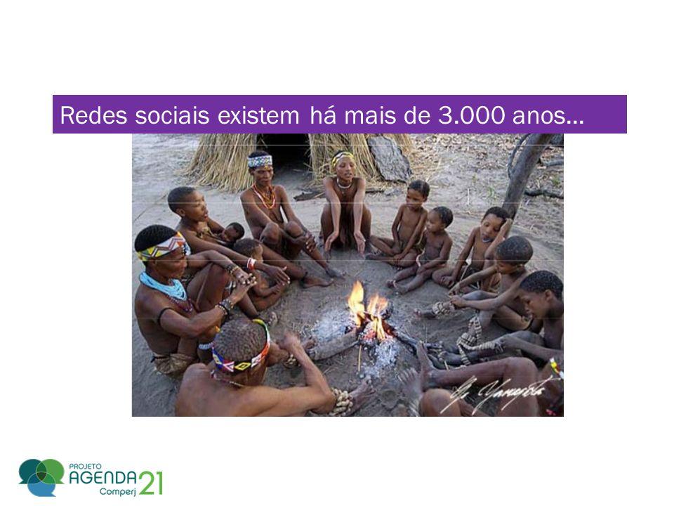 Redes sociais existem há mais de 3.000 anos...