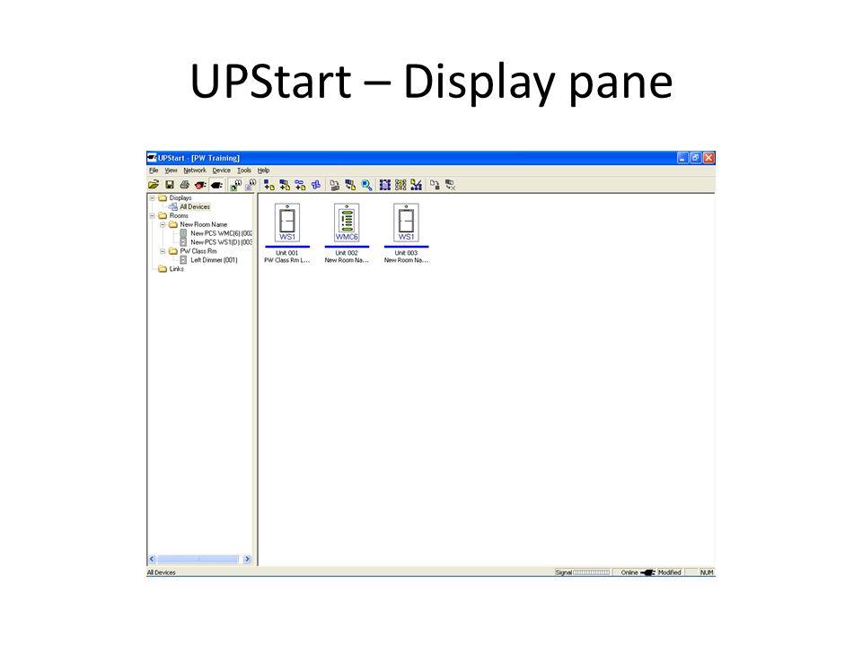 UPStart – Visual Link Editor