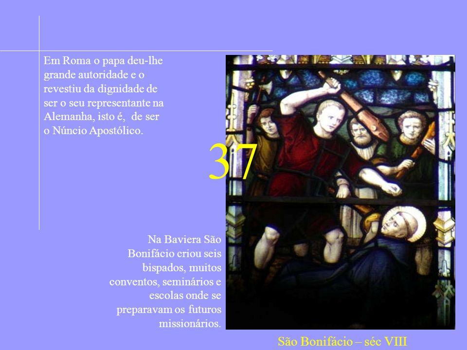 Em Roma o papa deu-lhe grande autoridade e o revestiu da dignidade de ser o seu representante na Alemanha, isto é, de ser o Núncio Apostólico.