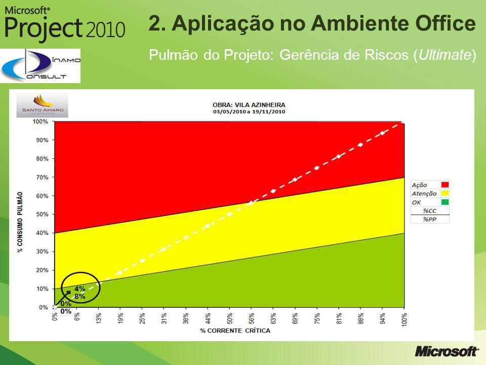 2. Aplicação no Ambiente Office Pulmão do Projeto: Gerência de Riscos (Ultimate)