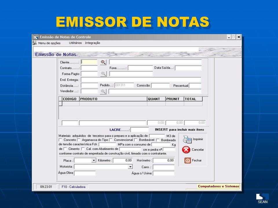 EMISSOR DE NOTAS SEAN